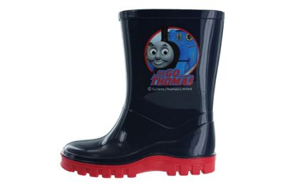 Boys Thomas The Tank & Friends Blue Wellies Wellington Boots UK Size 4