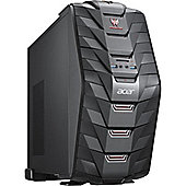 Acer Predator G3-710 Gaming Tower, Intel Core i5, 8GB RAM, 1TB + 128GB SSD, nVidia GTX 1060 DVDRW, Windows 10 Home, Black