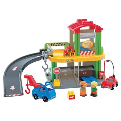 abrick Garage Play Set