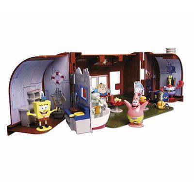 SpongeBob SquarePants The Krusty Krab Playset with 5 Figures