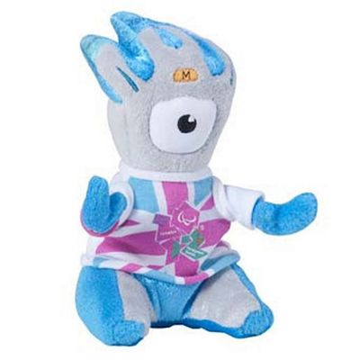 London 2012 Mandeville Cuddly Collectible 16cm Soft Toy