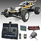 Tamiya The Hornet Rc Car Deal Bundle. Radio, 3300 Battery & Charger 58346