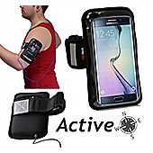 Navitech Black Sports Running Armband For the Samsung S8 / S8 + / S9 / S9+