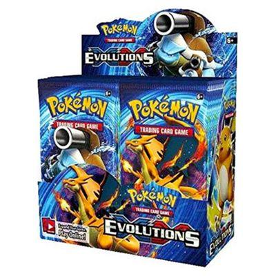 Pokemon XY-12 Evolutions Sealed Booster Box - 36 Packs