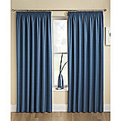 Enhanced Living Tranquility Wedgewood Blue Pencil Pleat Curtains - 66x54 Inches (168x137cm)