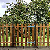 Mercia Palisade Picket Gate 3ft Flat Top Dipped