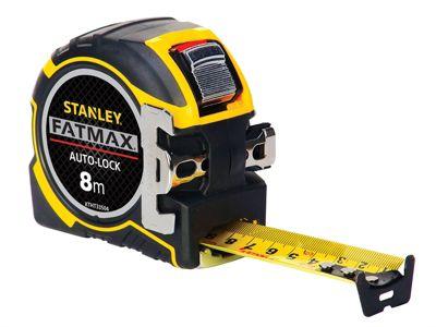 Stanley FatMax Autolock Pocket Tape 8m (Width 32mm)
