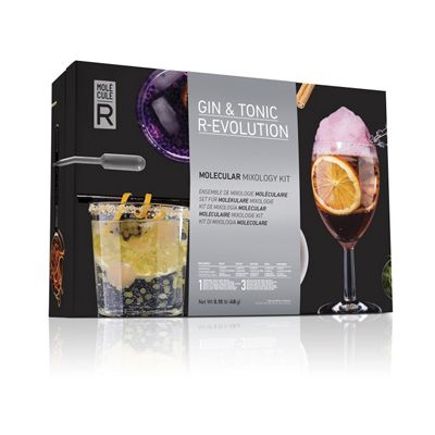 Gin and Tonic R-EVOLUTION Molecular Gastronomy Kit & Mixology Set By Molecule-R