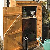 "3'0"" x 2'1"" Mini Store Wooden Garden Storage (0.93m x 0.64m) (3ft0"" x 2ft1"")"