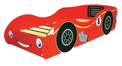 Kidsaw Racing Car Junior Bed Frame, Red