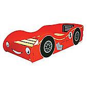 Kidsaw Racing Car Junior Bed Frame, Red