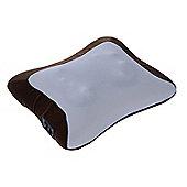 Homcom Electric Heating Massage Neck Head Back Arm Muscles Relax Pillow Shiatsu Massager (Brown)