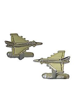 RAF Typhoon Euro Fighter Plane Design Cufflinks -ck1077