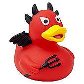 Lilalu Red Devil Halloween Rubber Duck Bathtime Toy