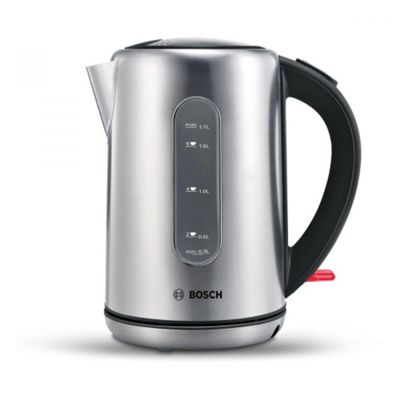 Bosch TWK7901GB Jug Kettle - Stainless Steel/Black
