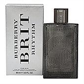 Burberry Brit Rhythm for Him Eau de Toilette (EDT) Intense 90ml Spray For Men