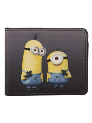 Despicable Me Peace Black Bi-Fold Wallet
