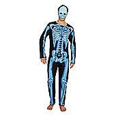 F&F Skeleton Halloween Costume - Black