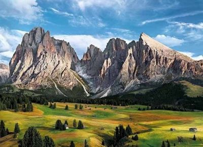 The Coronation of the Alps - 1000pc Puzzle