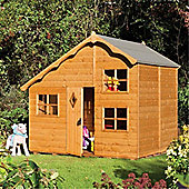 8 x 7 Deluxe Playaway Swiss Cottage Playhouse (2.50m x 2.08m) (8ft x 7ft)