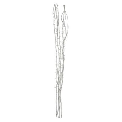 120cm Decorative Twig Lights, Silver