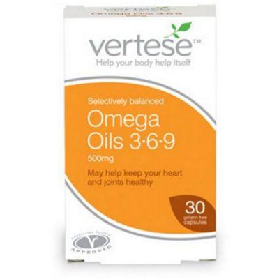 Omega Oils 3+6+9 500Mg Capsules
