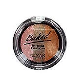 Nicka K Baked Terracotta Trio Eyeshadow-03 Sparkle Bronze