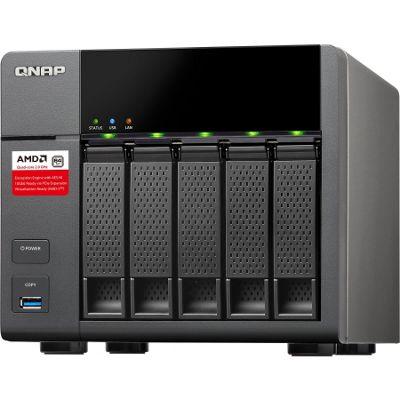 QNAP Turbo NAS TS-563 5 x Total Bays NAS Server - Tower