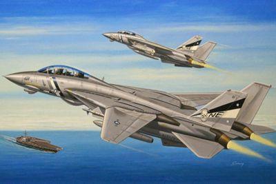 F14D Super Tomcat 1:144 Scale Model Kit - Hobbies