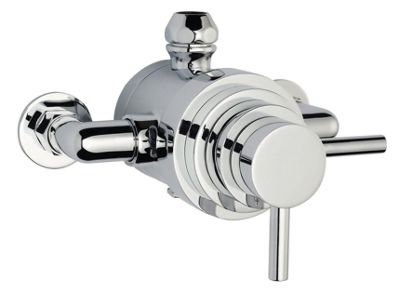 Ultra Spirit Dual Exposed Thermostatic Shower Valve in Chrome
