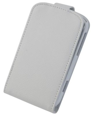 "Tortoise™ Genuine Leather Flip Case BlackBerry® Boldâ""¢ 9900 White"