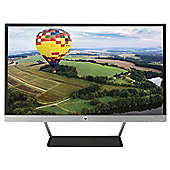 HP Pavilion 24xw 23.8 TechniColour Full-HD IPS Backlit Monitor Black Stand