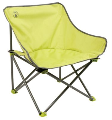 Kick-Back Camping Chair With Carry Bag - Green