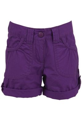 Shore Kids 100% Cotton Walking Hiking Lightweight Shorts - Girls