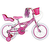 "Bumper Sparkle 16"" Pavement Bike Pink"