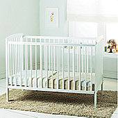 Kinder Valley Sydney Cot White with Kinder Flow Mattress Bundle