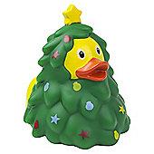 Lilalu Christmas Tree Rubber Duck Bathtime Toy
