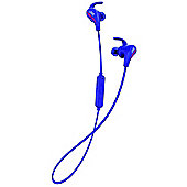 JVC HAET50 Bluetooth Sports In-Ear Headphones - Blue
