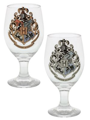 Harry Potter Hogwarts Colour Change Drinking Glass