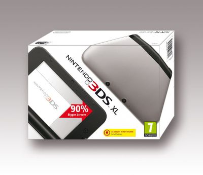Nintendo 3DS XL Black/Silver