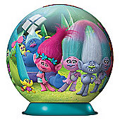DreamWorks Trolls 3D Puzzleball - 72 Pieces