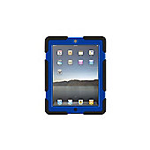 Griffin Survivor Case (Black/Blue) for iPad 2, iPad 3, and iPad (4th gen)