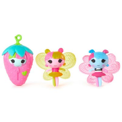 MGA Entertainment Mini Lala-Oopsie Littles 3 Pack - Lilac, Tulip & Fern