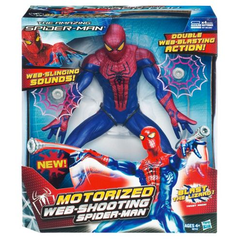 The Amazing Web Shooting Spider-Man