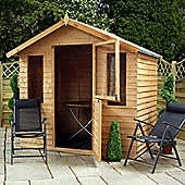 Mercia Overlap Wooden Summerhouse with Stable Door, 7x5ft