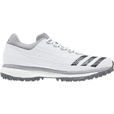 adidas adizero SL22 Boost Mens Adult Cricket Spike Shoe White/Grey - UK 9
