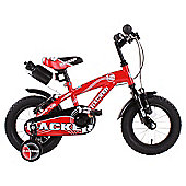 "Hacker Boys 12"" Wheel Mountain Bike Red"