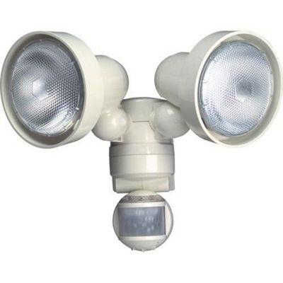Timeguard 150w PIR Twin Spot Light - White