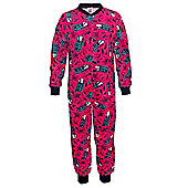 Mattel Monster High Girls Onesie - Black