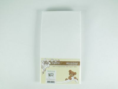 Organic Fitted Sheet For Chicco Next 2 Me By BabySecurity - White